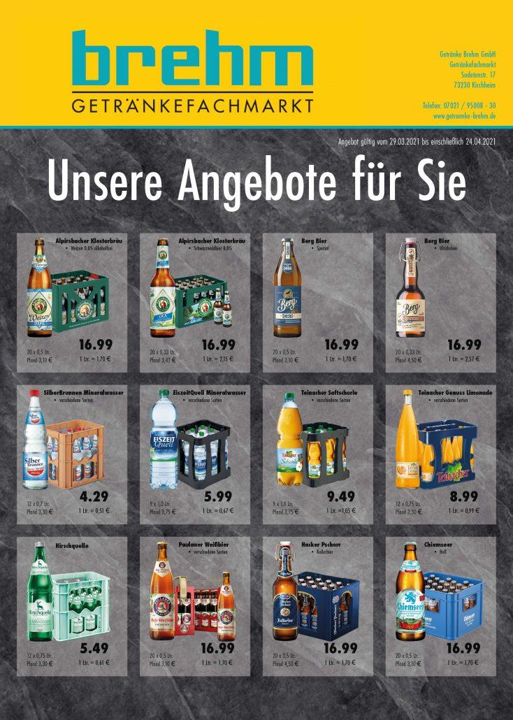Getränkemarkt Kirchheim Angebote